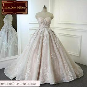 Vestido De Noiva De Renda Tomara Que Caia Princesa 2019