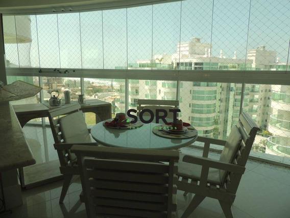 Brava Beach, Apartamento Mobiliado Com 3 Suítes, 3 Vagas De Garagem, Praia Brava - Ap0600