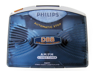 Walkman Philips Bass Boost Am/fm Nuevo Envio Gratis