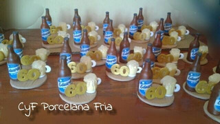 Souvenirs Botella De Cerveza+chop, +nùmero