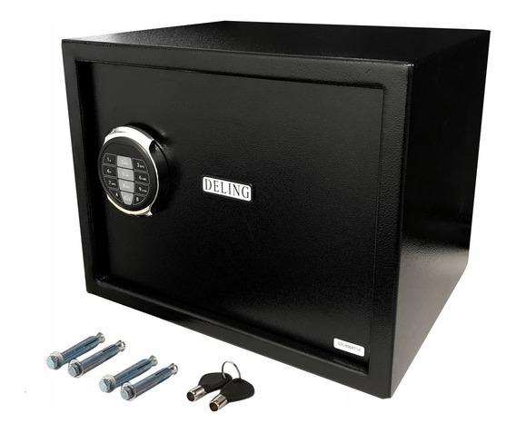 Caja Fuerte Reforzada 38x33x31cm Digital Electronica Teclado