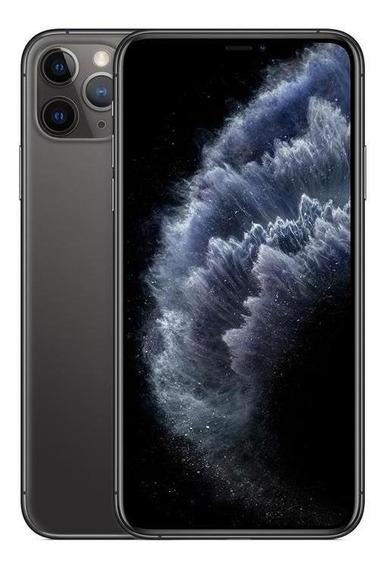 iPhone 11 Pro Max Apple Cinza Espac, 64gb Desbl - Mwhd2bz/a