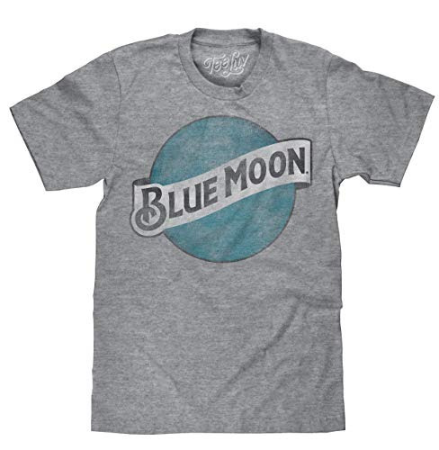 Blue Moon Color Logo Soft Touch Tee-medium
