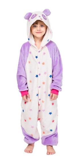 Mameluco Pijama Oso Osito Panda Pandita Infantil