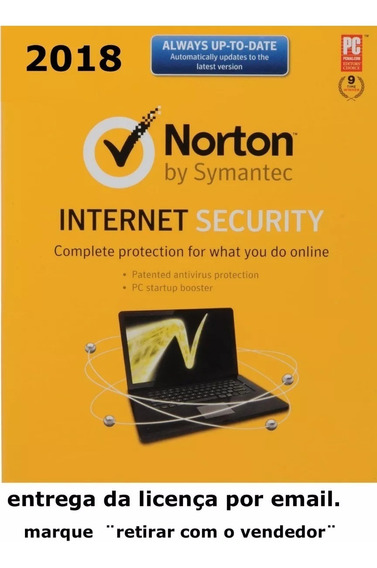 Norton Internet Security 2019 1 Ano 1 Pc Conta Norton Leia