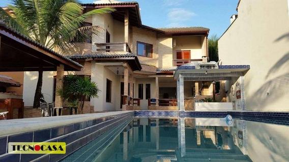 Maravilhoso Sobrado Isolado Com 04 Dormitórios Para Venda Com 370 M² No Bairro Morada Da Praia Em Bertioga/sp. - So2145