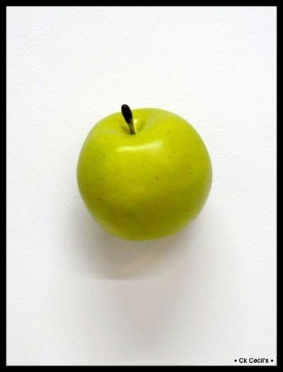 Fruta Artificial Decoracion - Manzana