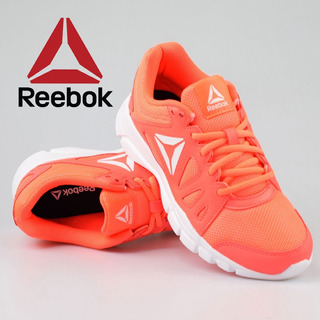 Tenis Reebok Mujer Coral Intense #26 Gym Walking Original