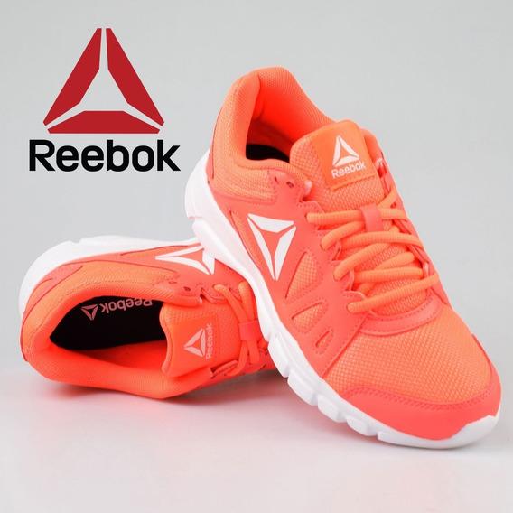 Tenis Reebok Mujer Coral Intense #26 Gym Walking Original
