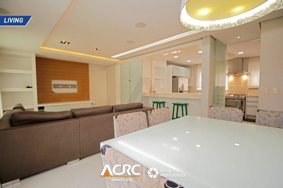 Acrc Imóveis - Apartamento Mobiliado Com Sacada E Piscina Para Venda No Bairro Jardim Blumenau - Ap03594 - 68088431