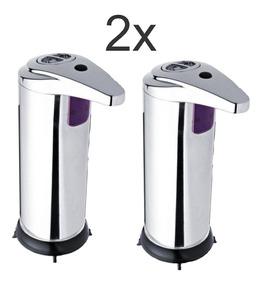 Saboneteira Inox Automática C/ Sensor - 2 Unidades