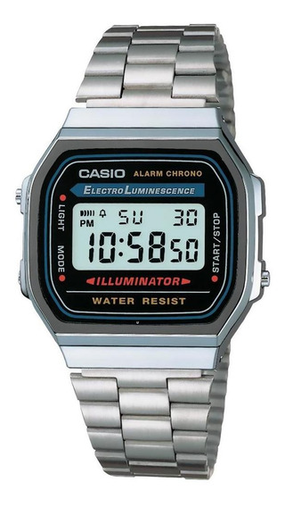 Reloj Casio Vintage Unisex-a168wa-1vt