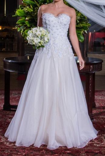 Vestido De Noiva Do Ateliê Maria Lafayette - Um Sonho!