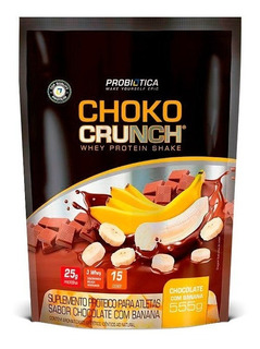 Whey Choko Crunch Shake 555g - Probiótica