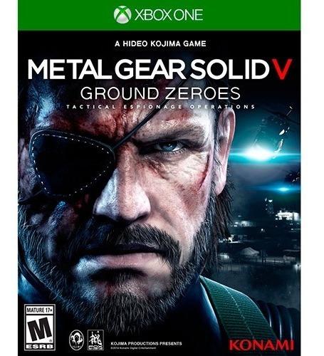 Jogo Xbox One Metal Gear Solid V: Ground Zeroes - Novo