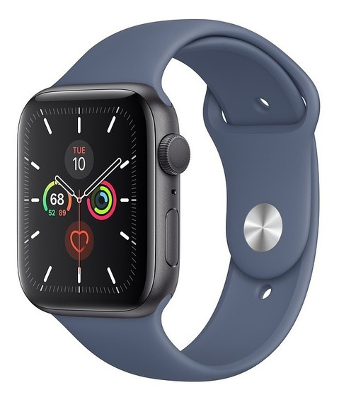 Apple Watch Série 5, Alumínio, Pulseira Sport Azul 44mm