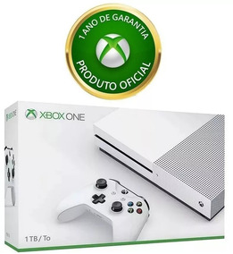 Xbox One S 1tb + Nota Fiscal + Garantia De Fabrica