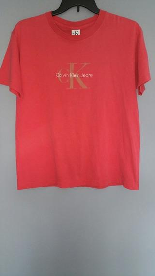 Playera Calvin Klein Vintage Años 1990s Antigua Original 90s