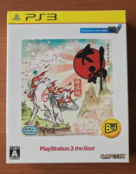 Okami Hd + Trilha Sonora - Playstation 3 Japones
