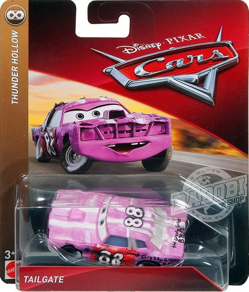 Disney Cars 3 Tailgate Demolidor Thunder Hollow Mattel