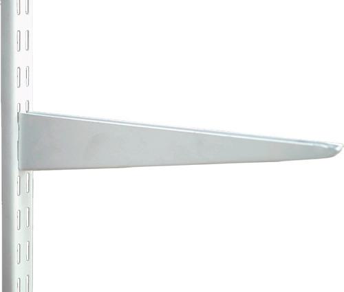 Mensula P/riel Estanteria - Super Reforzada 22cm  Doble Eng.