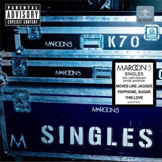 Cd Maroon 5 Singles En Stock Nuevo Musicanoba
