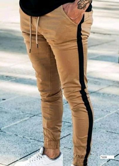 Pantalón Chupín X 2 Hombre