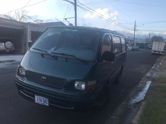 Toyota Hiace Crossovers