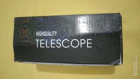 Super Luneta Monóculo Telescópio Tático 40x60 9500m + Tripé