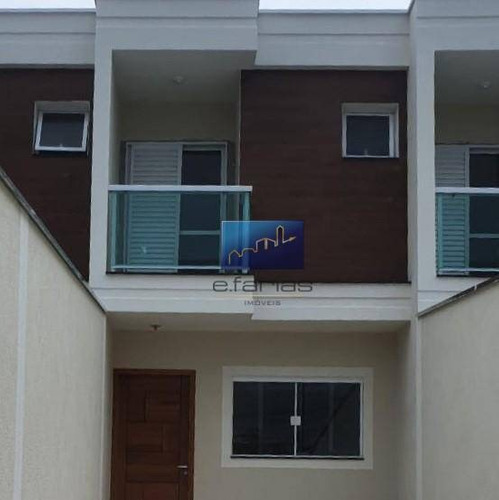 Sobrado Com 2 Dormitórios À Venda, 80 M² Por R$ 390.000,00 - Parque Boturussu - São Paulo/sp - So1086