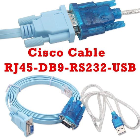 Kit Para Programação Roteador Router Switch Console Rs-232c