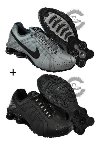 Tenis Nike Sxhox Junior 4 Molas Masculino Promoção Kit 2 Par