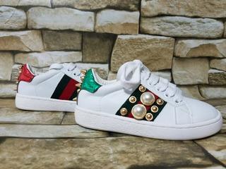 Zapato Tipo Guc**i Lv Para Nino
