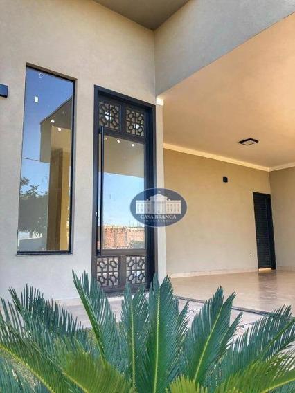 Casa Nova, Fino Acabamento, Em Condomínio Fechado! - Ca1585