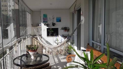 Apartamento No Vila Nova Mariana Com 3 Suítes E Varanda Gourmet De 151 M² - Vila Mariana - São Paulo/sp - Ap12322