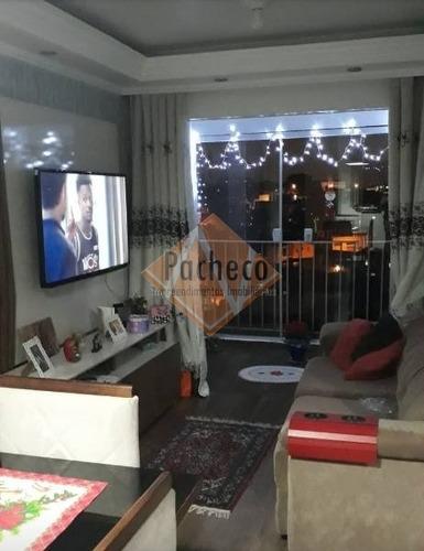 Imagem 1 de 19 de Apartamento Na Penha, 50 M², 02 Dormitórios, 01 Vaga, R$ 230.000,00 - 561
