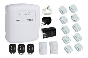 Kit Alarme S/ Fio Ecp Wifi 12 Sensores + Aplicativo Celular