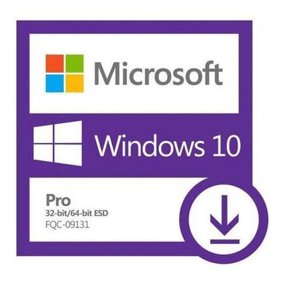 Licença Microsoft Windows 7/8.1/10 Pro Chave Serial