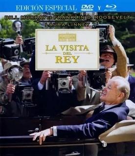 La Visita Del Rey Roosevelt Ed. Especial Blu-ray Dvd Envío