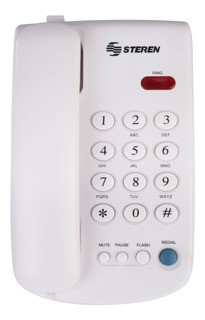 Telefono Fijo De Casa Oficina Teclas Grandes Steren Tel-010