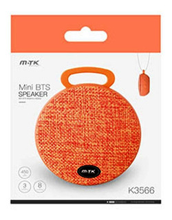 Parlante Bluetooth Impermeable Resistente Al Agua Mtk K3566