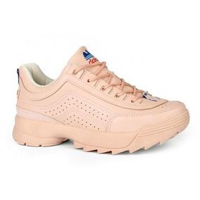 Tênis Dakota Dad Sneaker Retrô Casual G0981 - Rosa