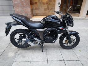Moto Suzuki Gixxer 150 - Mod. 2017 - Negra, Papales Al Día