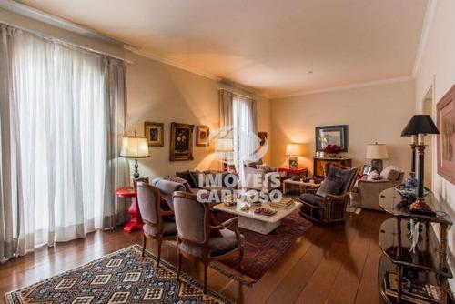 Imagem 1 de 15 de Apartamento Com 4 Dormitórios À Venda, 314 M² Por R$ 2.800.000 - Higienópolis - São Paulo/sp - Ap0636