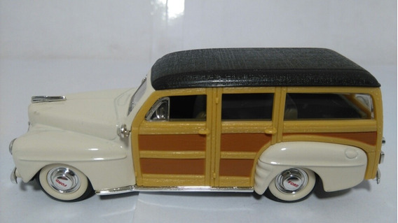 Ford Woody 1948 1:43 Road Signature Milouhobbies A2394