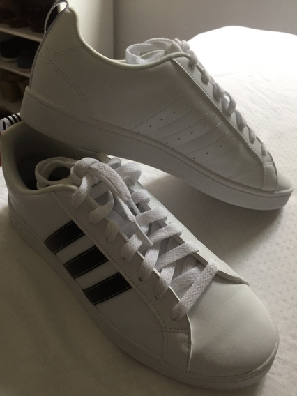 Sneaker adidas Advantage Vs Branco - Semi-novo!