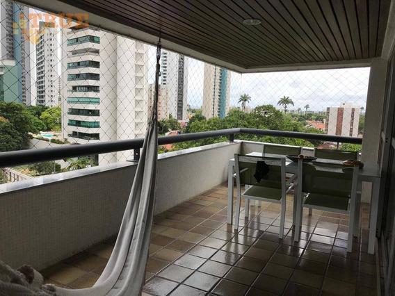 Apartamento 248m2, Rua Tranquila, Próximo Da Praça (81) 98715-3333 - Ap3168