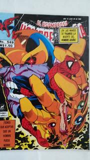 Spider Man Y Thanos De Coleccion