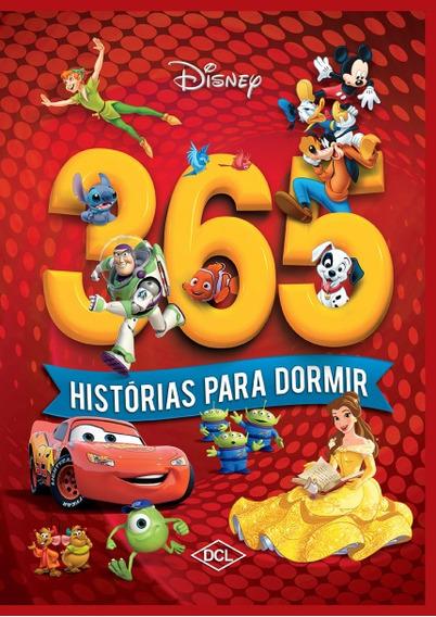 Livro 365 Histórias Para Dormir Kit C 2vol Disney Capa Dura