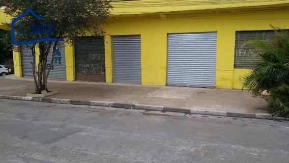 Salão Para Alugar Por R$ 1.500/mês - Vila Nova Bonsucesso - Guarulhos/sp - Sl0024